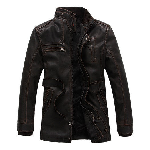 Exclusive Vigor Winter Leather Jacket