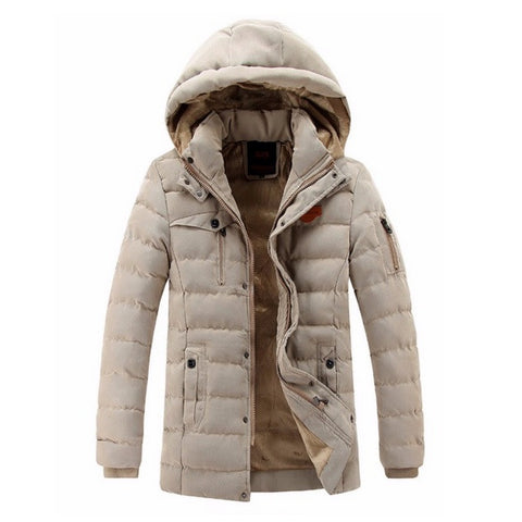Premium Winter Thermal Hooded Parka Jacket