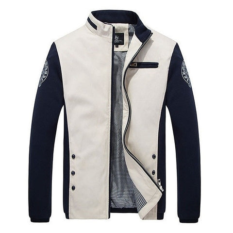 Archaic Varsity Casual Spring Jacket