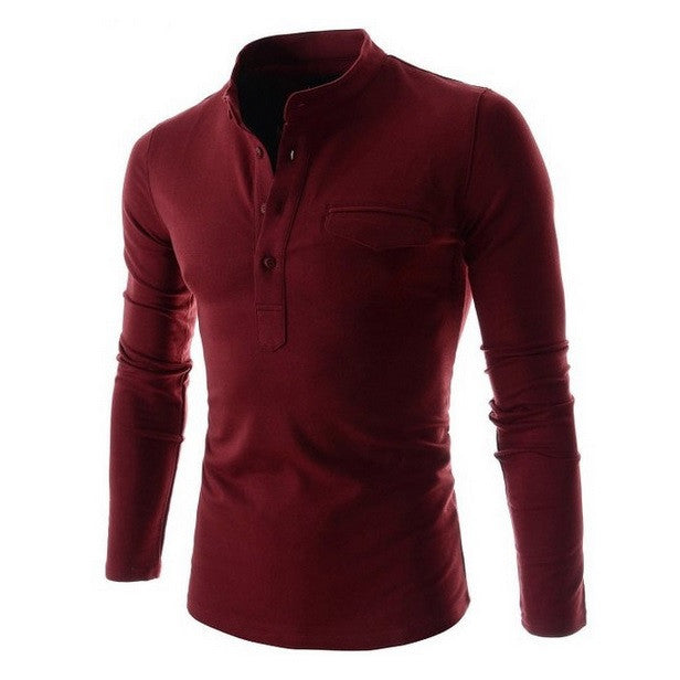 Classic Lounge Fitted Casual Shirt