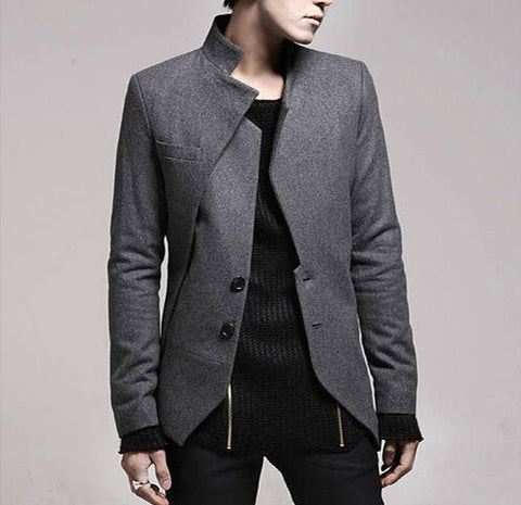 Double Flare Zen-Edged Contemporary Blazer