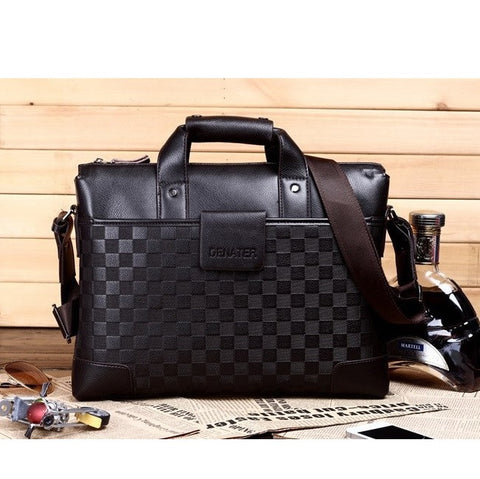 Cityscape Contemporary Men's business briefcase