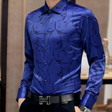 Urban Paisley Fitted Casual Dress shirt