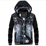 Urban Stardust Hooded Denim Jacket