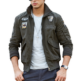 Urban Patched Military Winter Jacket