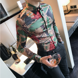 Contemporary Camouflage Trendy Shirt