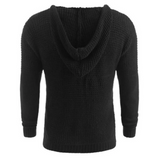 Contemporary 4-Buttons Twilled Sweater