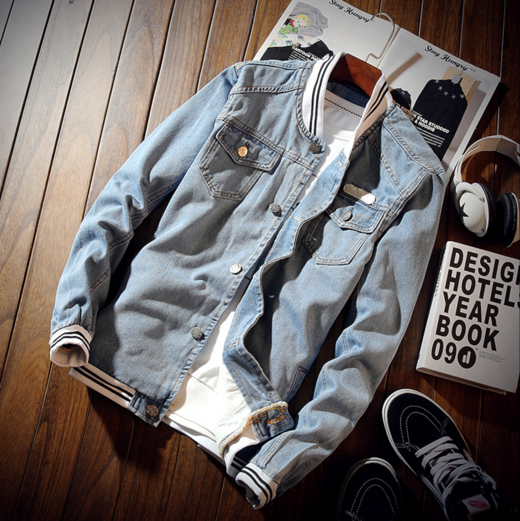 Urban Denim Jean Jacket.