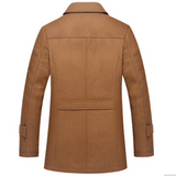 Inner Quilted Gentleman's Trench Coat
