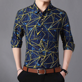 Contemporary Geometric Casual Shirt