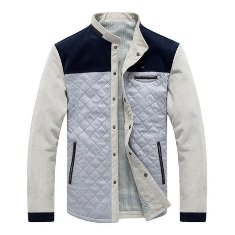Urban Quilted Patched Fleece Jacket