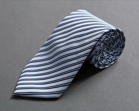 Blue-Striped Neck Tie