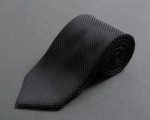 Slim-tapered Black Neck Tie