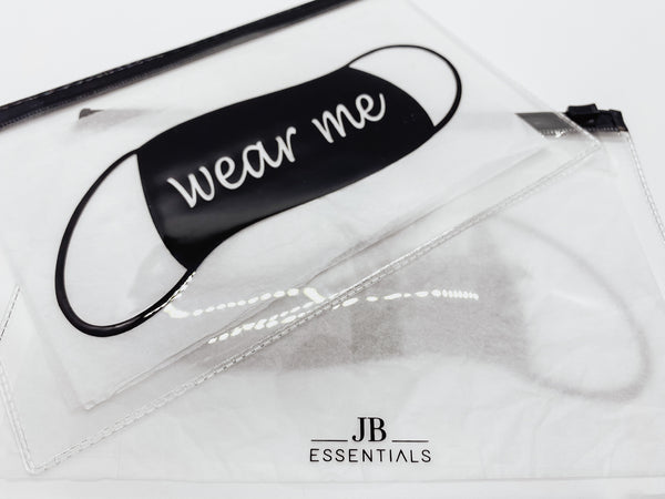 Mask Bag Set - Silk Face Mask | JB Essentials