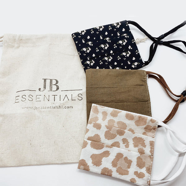 Stylish Face Masks - Reusable Face Masks | JB Essentials