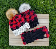 Load image into Gallery viewer, Ready to Ship - Buffalo Plaid Cowl
