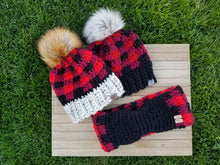 Load image into Gallery viewer, Buffalo Plaid Beanie