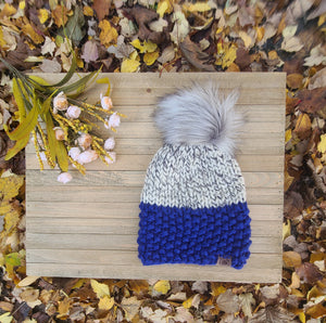 Ready to Ship- Lola Beanie Royal Blue
