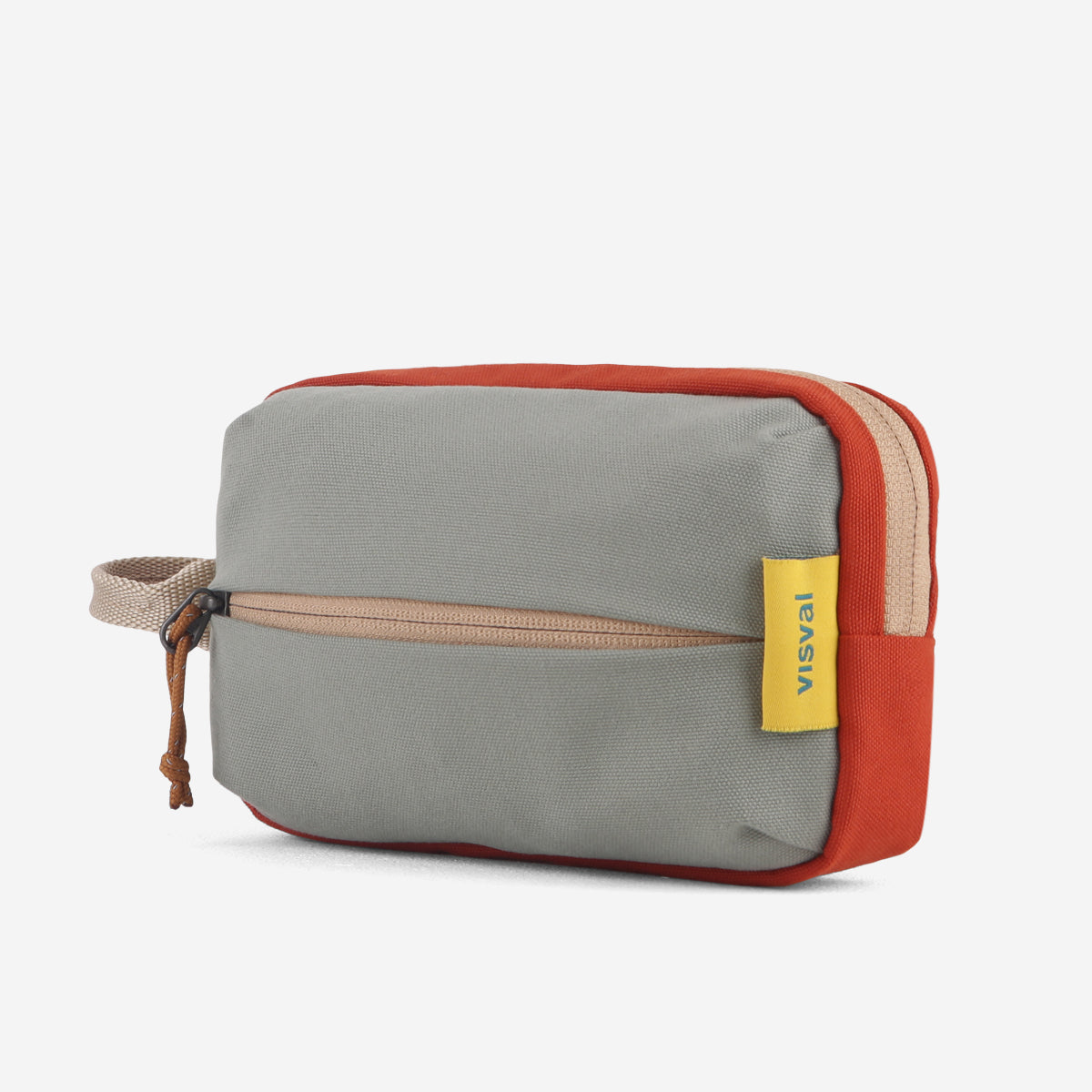 [COLLABS] Dopp Kit VISVAL x Indy Ratna Series Light Olive