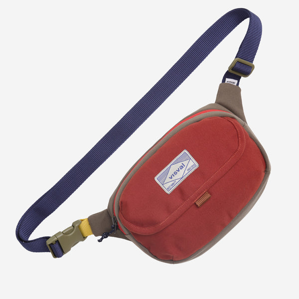 [COLLABS] Waist Bag VISVAL x Abimanyu Series Brick Red