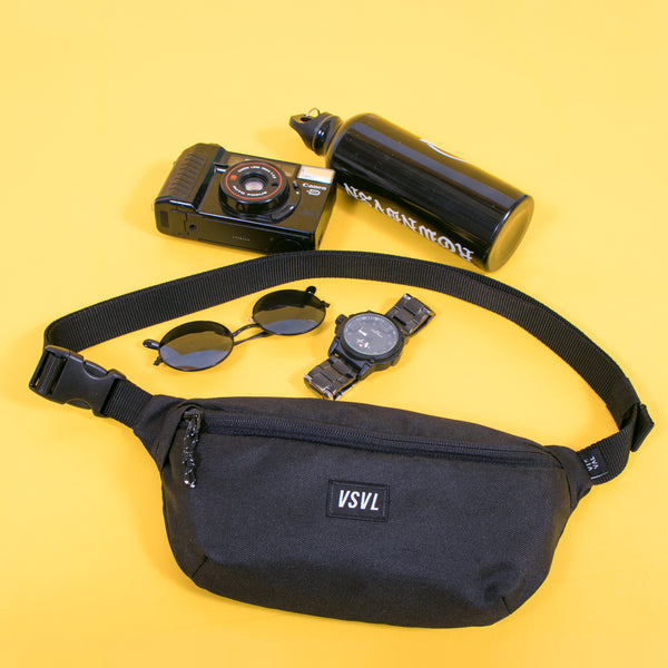 Waist Bag Rush Solid Black