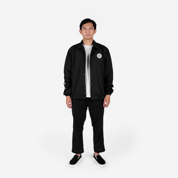 Shiro Coach Jacket Black
