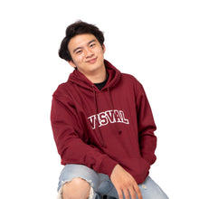Load image into Gallery viewer, Mirage Hoodie Jacket Maroon