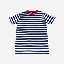 Load image into Gallery viewer, Flag Stripes Navy Tshirt