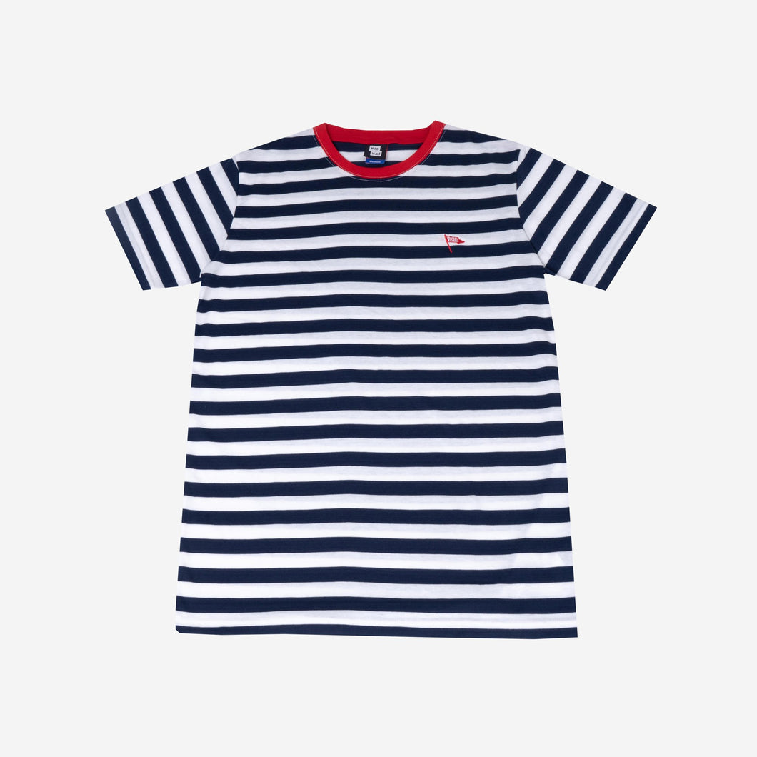 Flag Stripes Navy Tshirt
