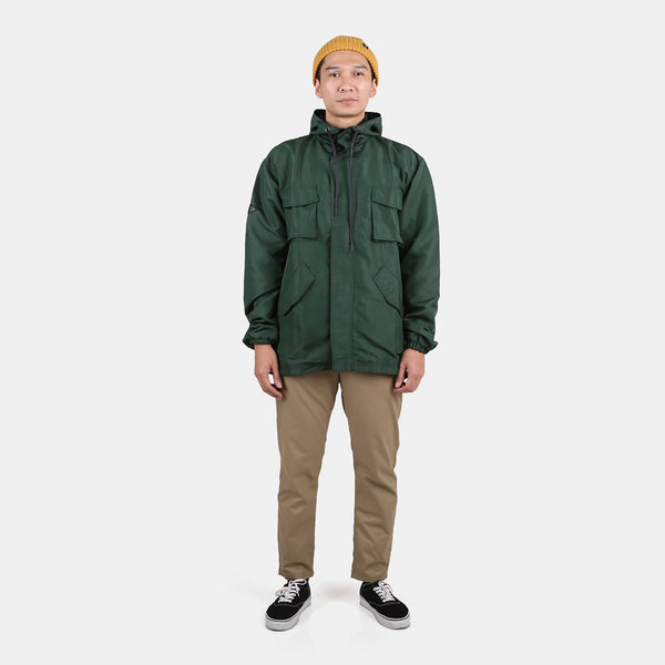 Odin Parka Jacket Green Bottle