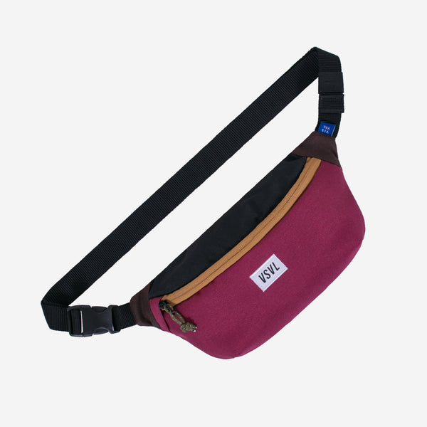 Waist Bag Rush Maroon