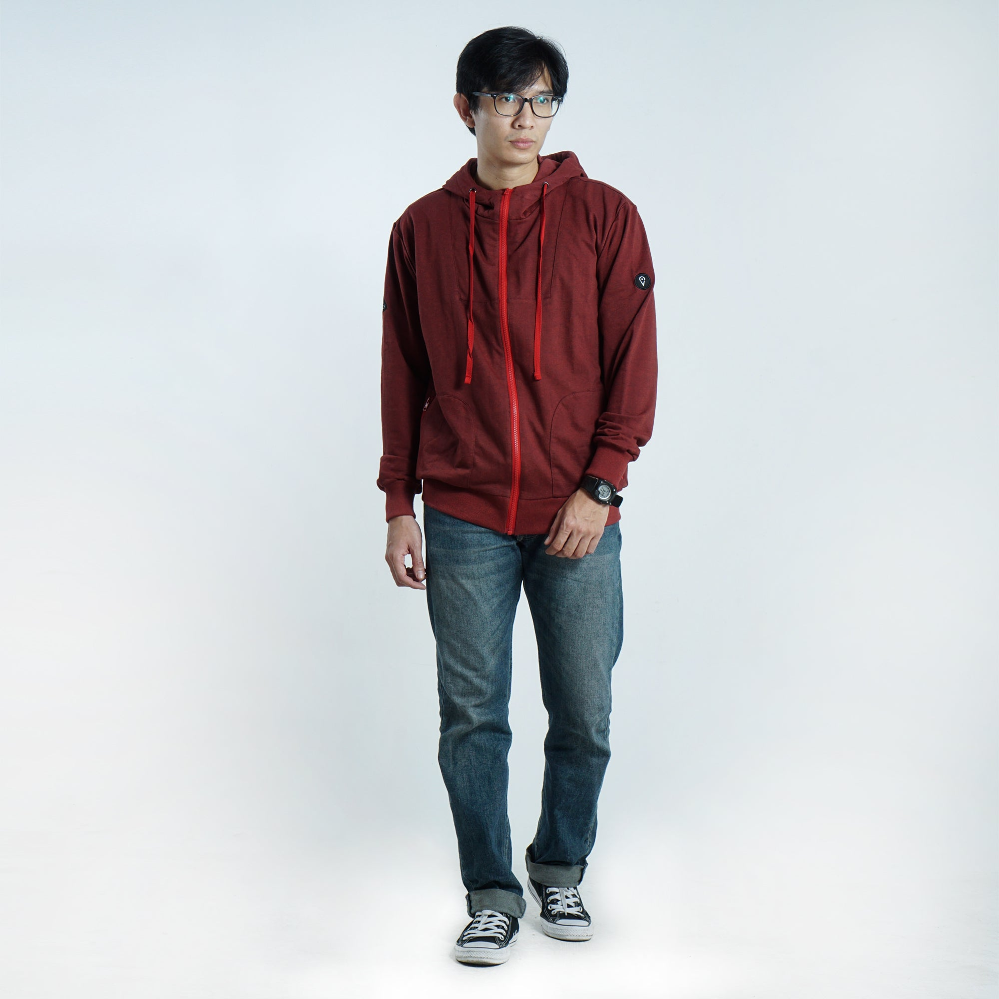 Rollin Jacket Red