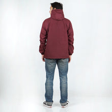 Load image into Gallery viewer, Visco Windbreaker Jacket Maroon Mustard