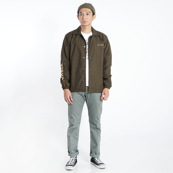 Errode Coach Jacket Olive