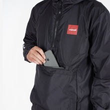 Load image into Gallery viewer, Explore Packable Jacket Black