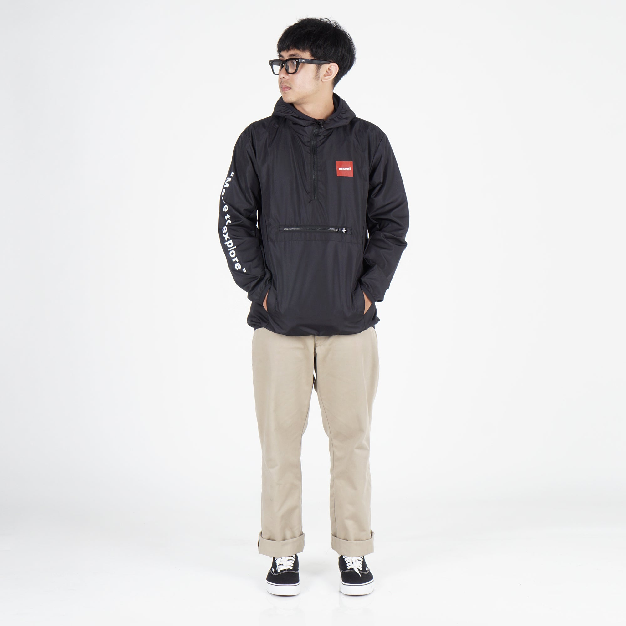 Explore Packable Jacket Black