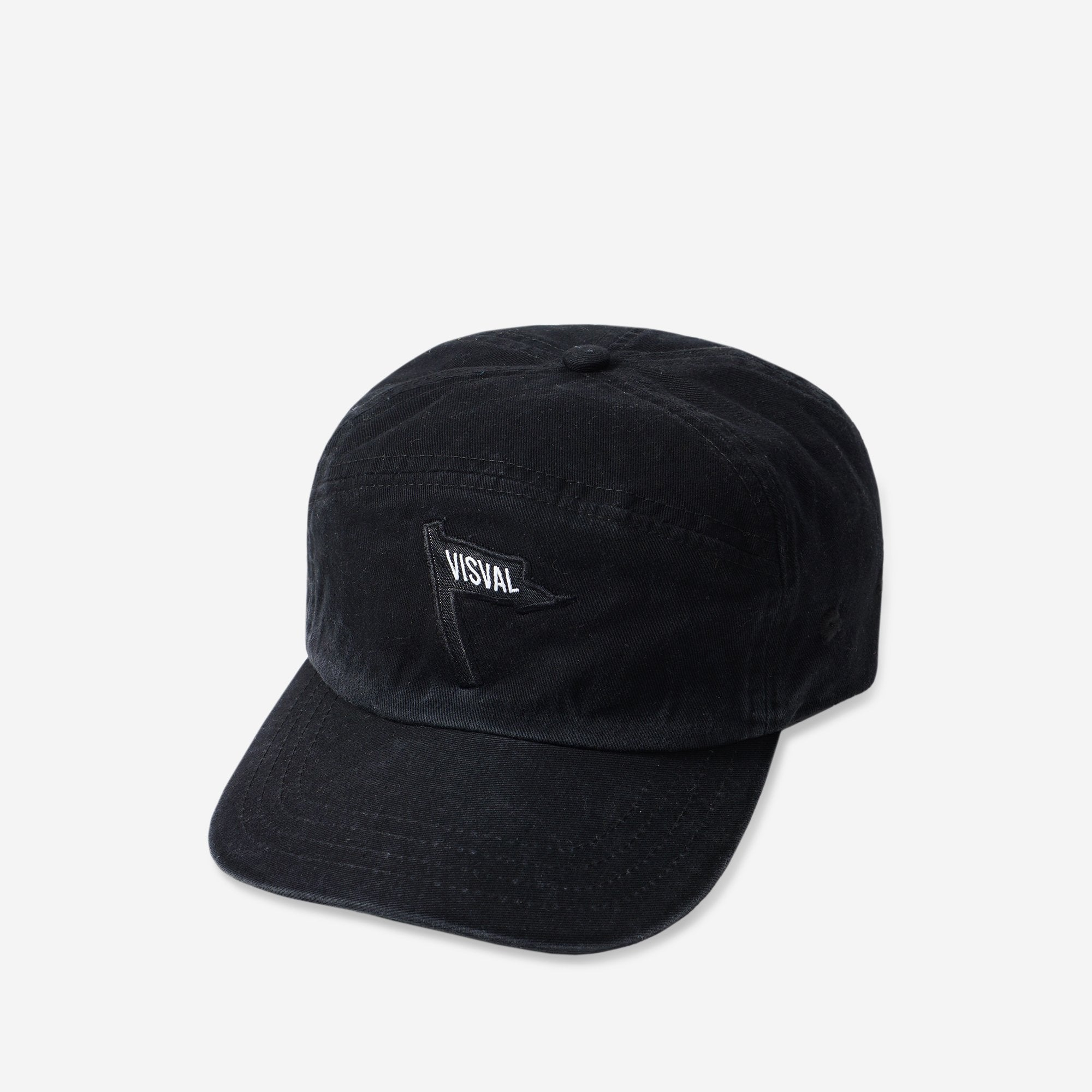 Flag Panel Cap Black