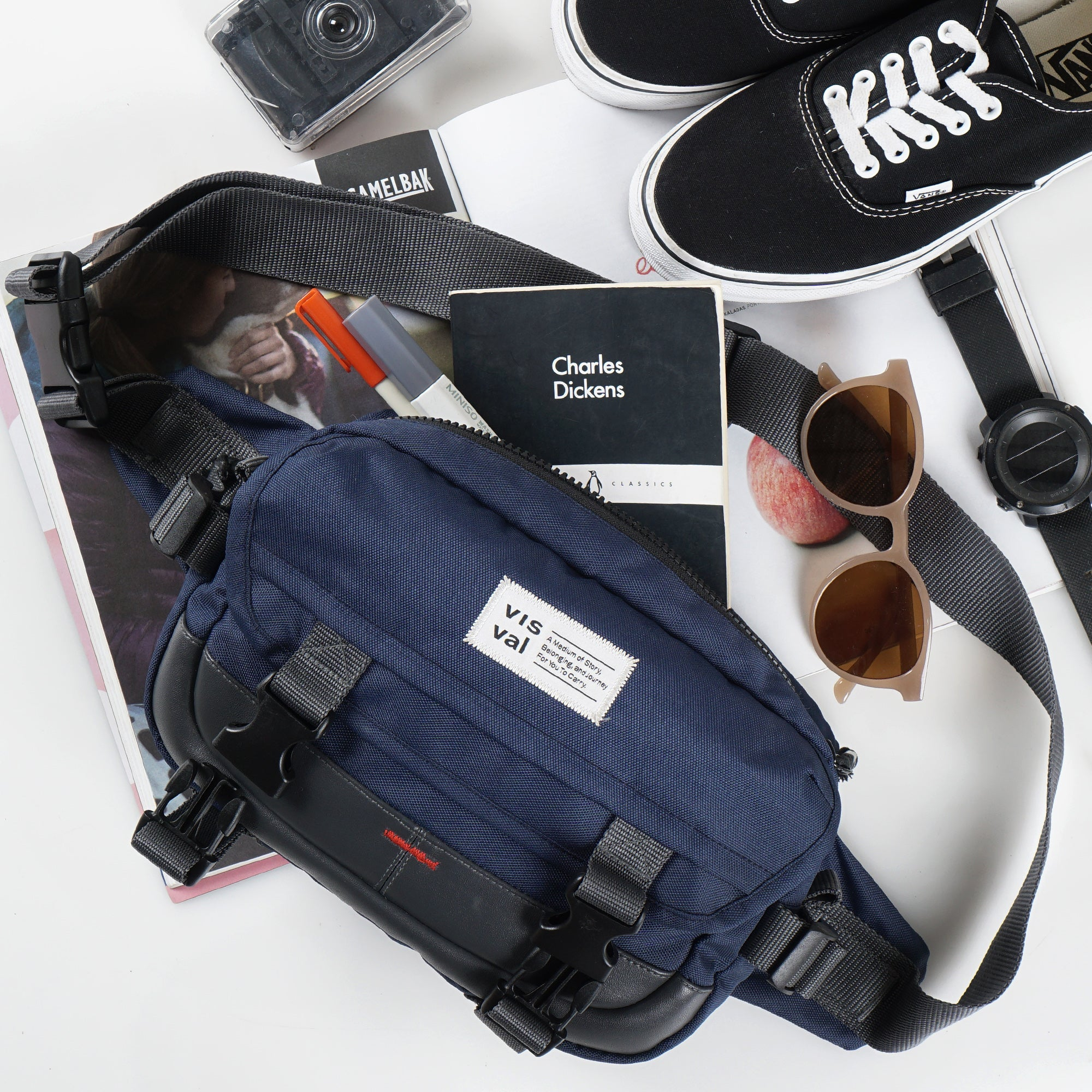 Flashpack 2.0 Waist Bag Navy