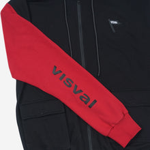 Load image into Gallery viewer, Kendo Sweater Black Navy Red