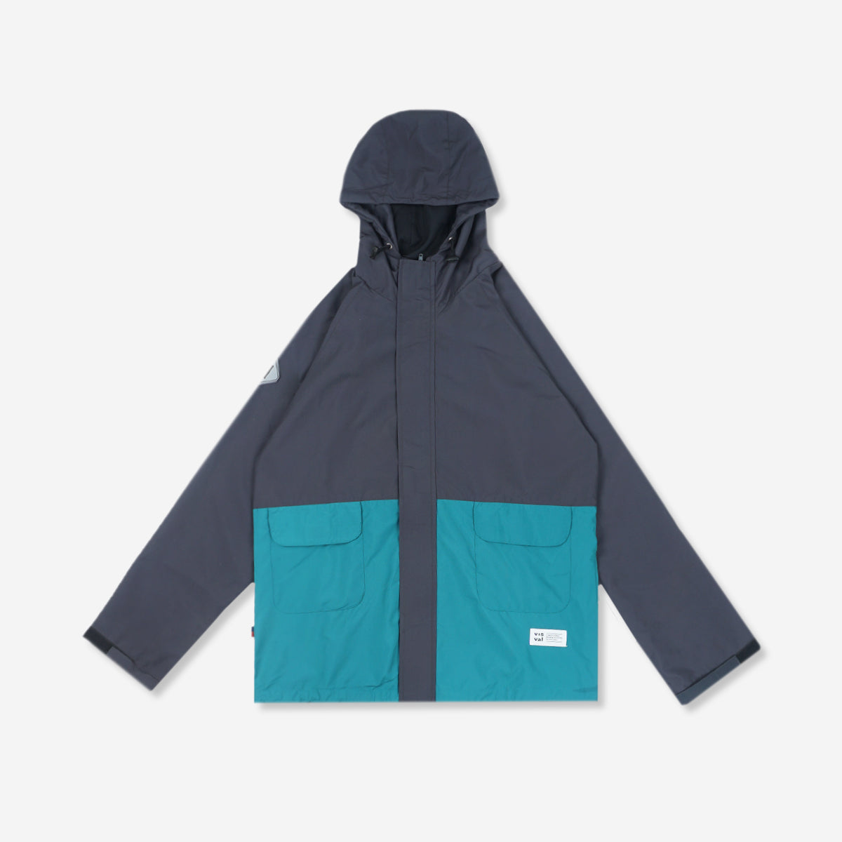 Reeve Windbreaker Dark Grey Tosca