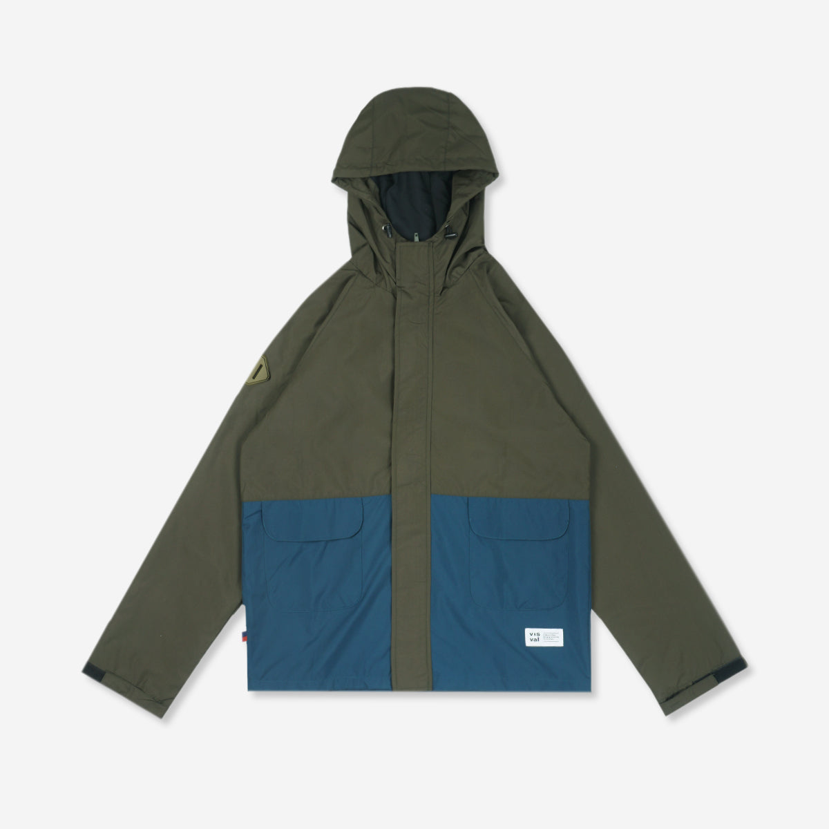 Reeve Windbreaker Dark Green Olive