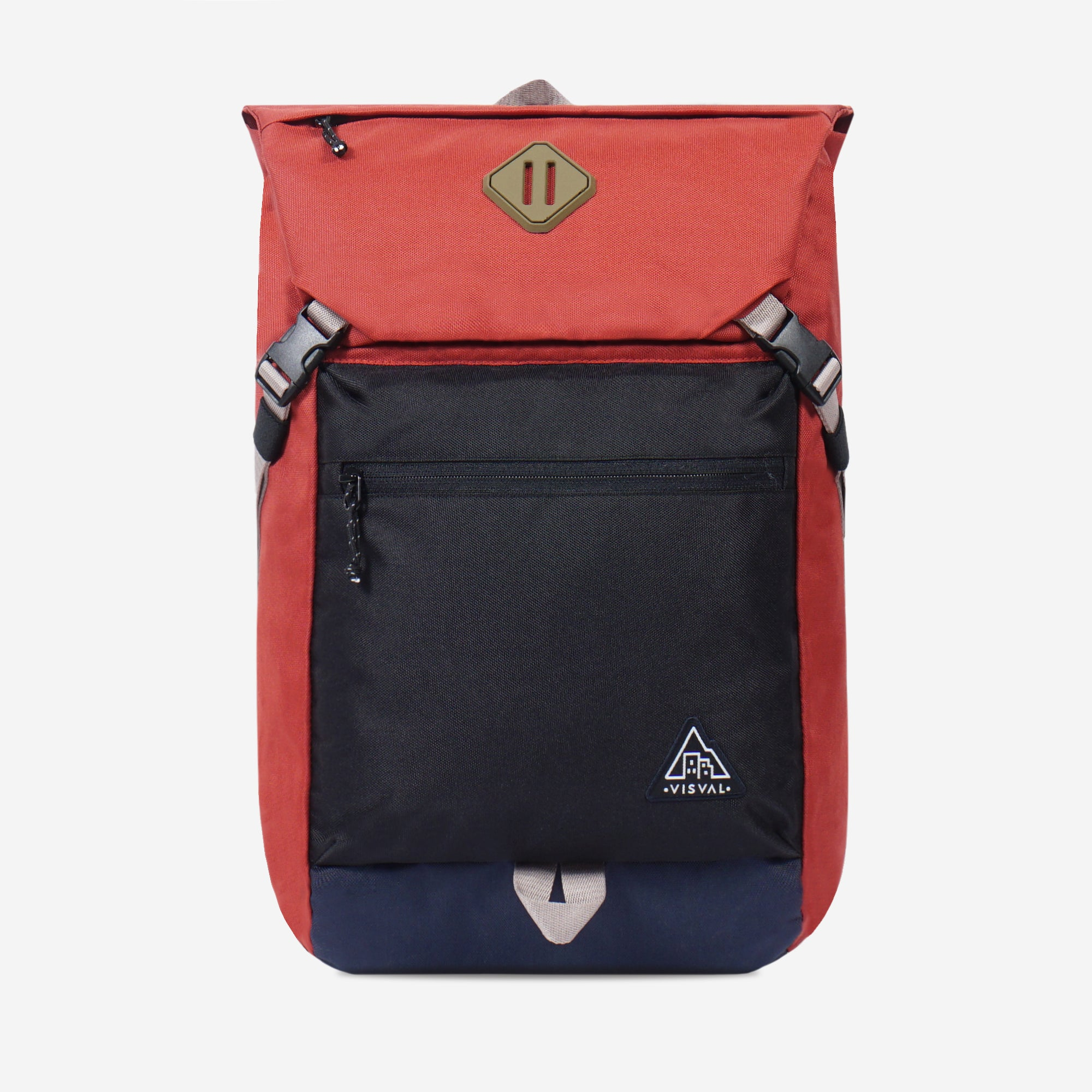 Montage Backpack Brick Red