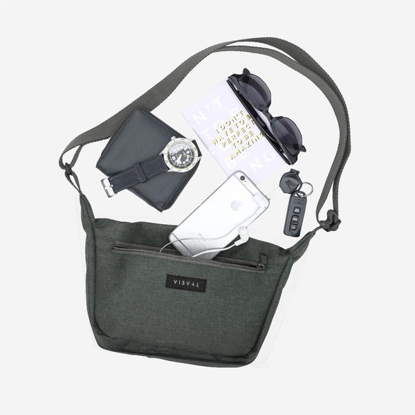 Sling Bag Walker Dark Grey