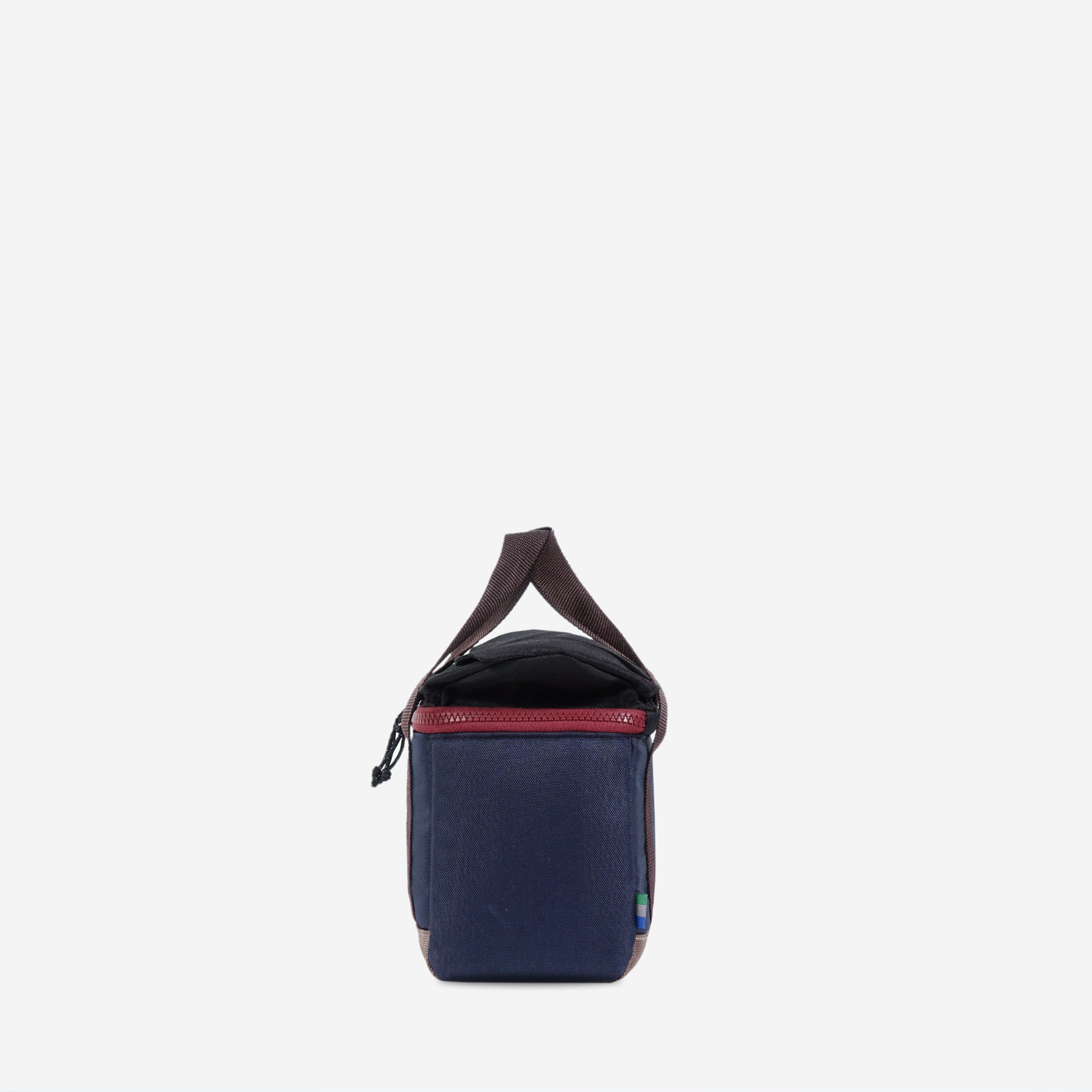 Trove Camera Cube Navy Brown