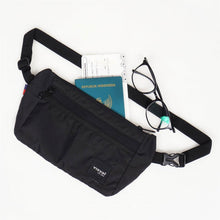 Load image into Gallery viewer, Zenith Waist Bag Black