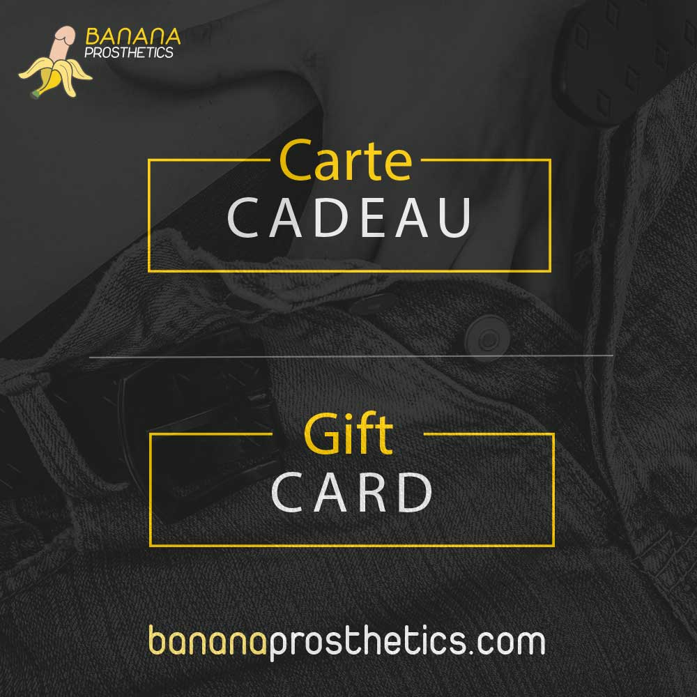 Carte cadeau / Gift Card Banana Prosthetics