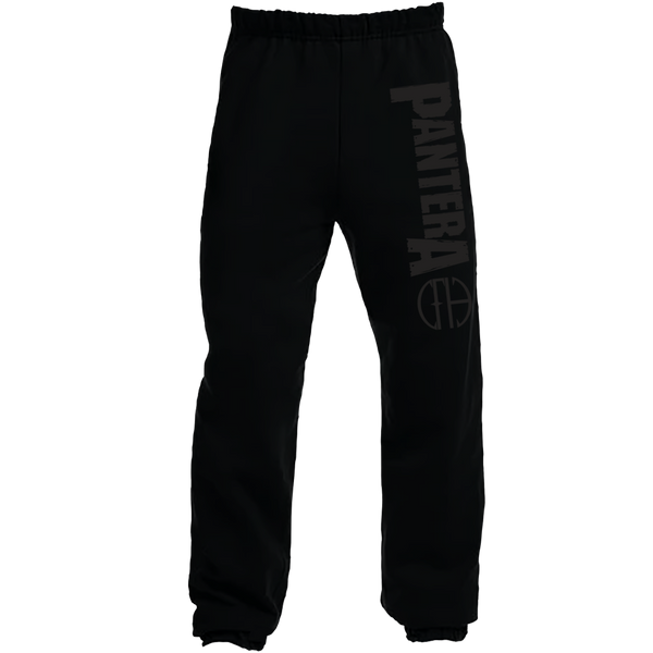 BLACK ON BLACK CFH SWEATPANTS