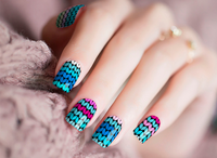 Funky Colors Nail Wraps