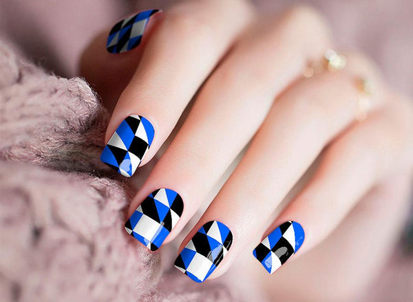Abstract Nail Wraps