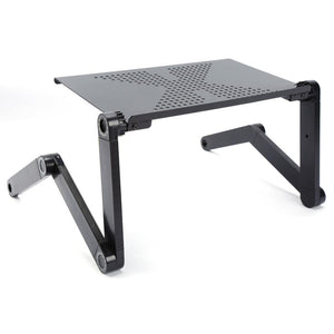 Adjustable Laptop Desk For Bed With Cooling Fan